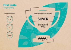 outstanding1 - Outstanding Branding für Recycling ausgezeichnet