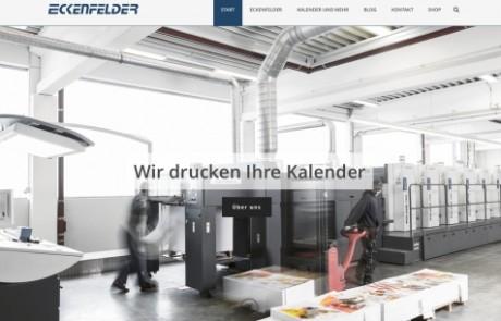 Eckenfelder: Neue Website