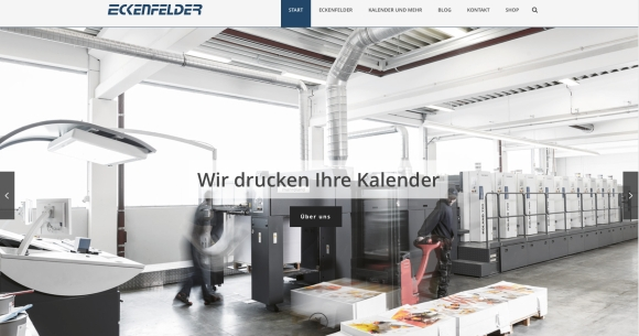 Eckenfelder: Neue Website