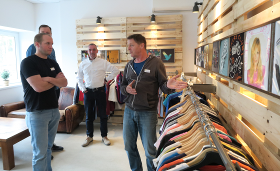 Nachhaltiger Textildruck: Seminar in Köln