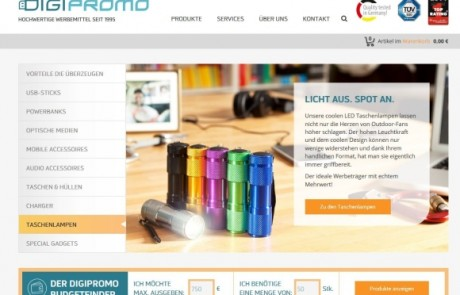 DigiPromo relauncht Website