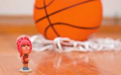 3D figures Basketball - GoCubic: Druck dich aus
