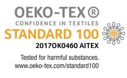 Arpe: Oeko-Tex-Siegel und ISO-Zertifizierungen