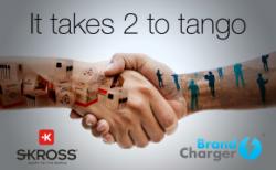 BrandCharger® und Skross® kooperieren