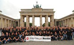 Maprom: Jubiläumsfeier in Berlin