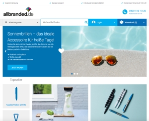 allbranded Screenshot 300x245 - allbranded: Europaweiter Website Relaunch