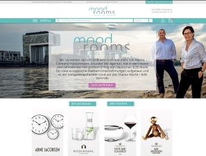mood rooms Online Shop - mood rooms: Neuer Online-Shop