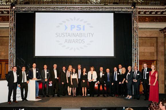 PSI SustainabilityAward Aufmacher 580 1 - PSI Sustainability Awards verliehen