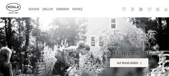 Rösle: Neue Website