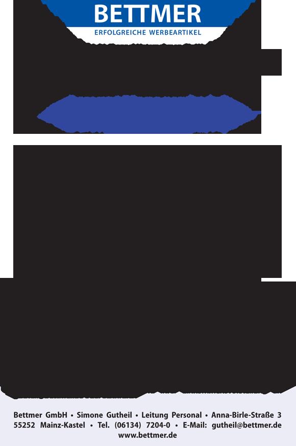 jobshop bettmer 2 - Account Manager (m/w) (PLZ-Gebiet 9)