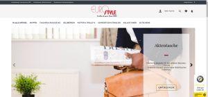 Eurostyle mit neuer Website