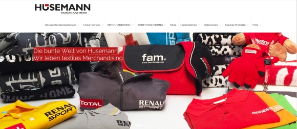 Husemann: Neue Website