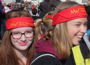 WA iM MariaWard 1 - in Medias: Tücher für Papstbesuch