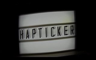 Hapticker 1 320x200 - HAPTICA®: Vlog für haptische Werbung