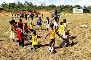 Sauti Kuu Sport - Verticas unterstützt soziale Projekte