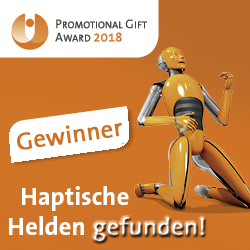 pga2018 gewinner - Promgifts 2017: Belgische Industriemesse in neuer Location