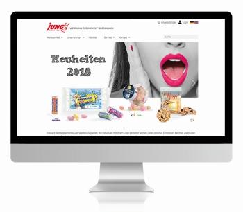 Jung webseite - Jung mit neuer Website