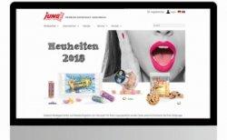 Jung mit neuer Website