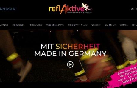 reflAktive: Runderneuerter Auftritt