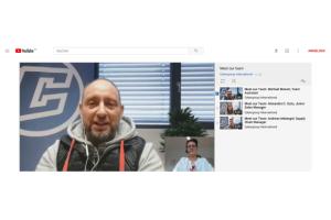 Cybergroup: Skype-Interviews der Mitarbeiter