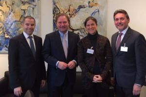 GWW zu Gast im NRW-Finanzministerium