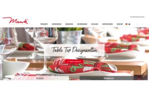 Mank Neue Homepage - Mank: Neue Website