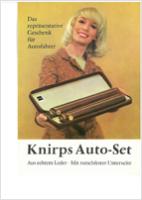 POM 1966 Knirps Auto Set mitrand - Knirps wird 90