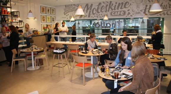 Moleskine: Pressefrühstück in neuem Hamburger Café