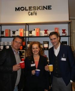moleskinecafe hamburg2 - Moleskine: Pressefrühstück in neuem Hamburger Café
