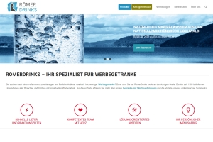 Römer Drinks: Neue Website
