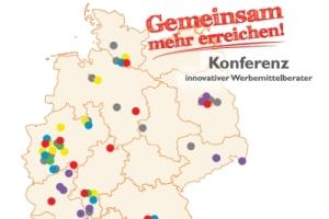 karte werbeartikelunternehmen v - Konferenz von rund 60 Werbeartikelunternehmen