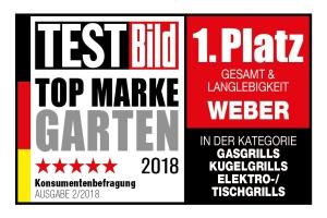 """Weber-Stephen: """"Top Marke Garten"""""""
