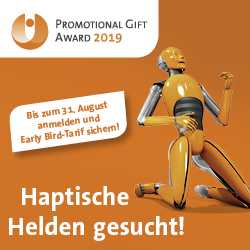 PGA 19 250x250 earlybird de - Red Dot Awards für Werbeartikler