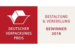 Deutscher Verpackungspreis für Audio Logo