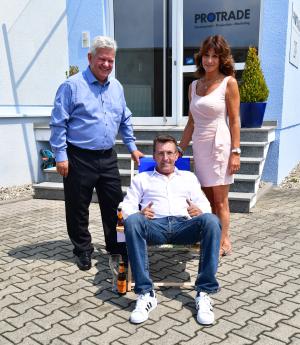 Verabschiedung Bernd Schuepphaus - Protrade: Verabschiedung von Schüpphaus