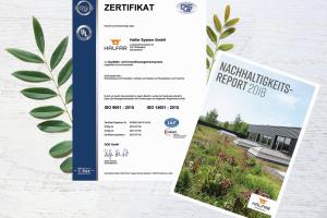 Halfar: Neue ISO-Zertifizierung