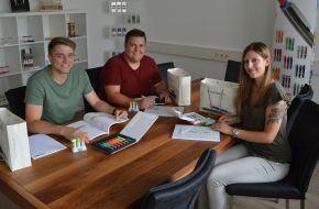 Ritter-Pen: Neue Azubis und Jubilare
