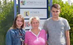 """RömerFamilie mit neuen """"Familienmitgliedern"""""""