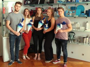verticas azubis - Verticas: Fünf neue Nachwuchskräfte