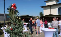 Werbemittel-Messe Münster: Erster Weihnachtsmarkt