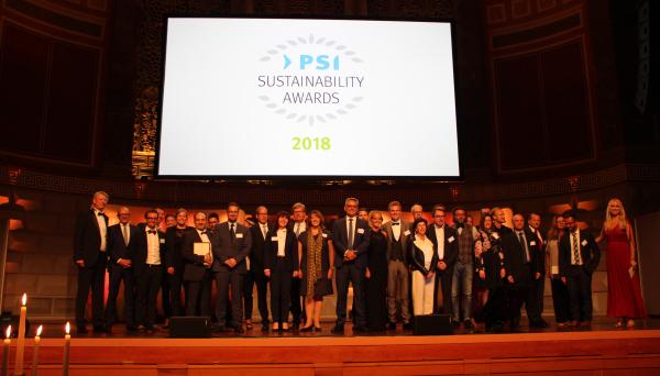psi saav - PSI Sustainability Awards 2018: Feierliche Verleihung