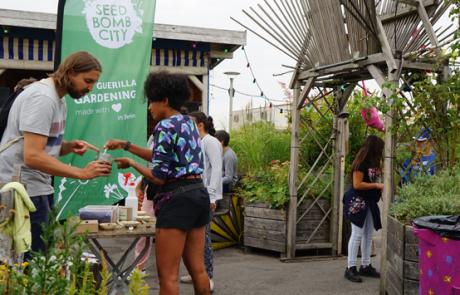 Seedbomb City: Werben im grünen Bereich