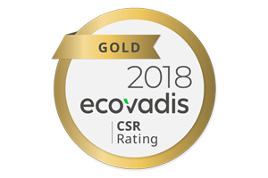 Ecovadis Gold medal - Xindao: Gold bei EcoVadis