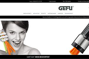 Gefu: Neuer Webauftritt