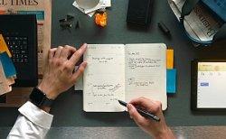 Moleskine: Studie zur Handschrift im digitalen Zeitalter