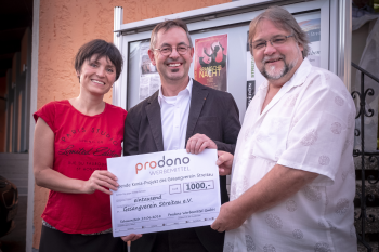 prodono spende - prodono unterstützt Hilfsprojekt