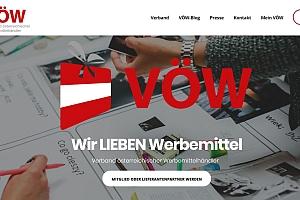 Screenshot VOEW vorschau - VÖW: Neue Website
