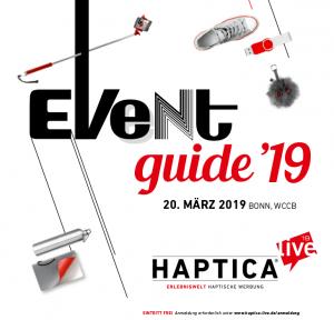 HL19 Eventguide Cover org 300x288 - Der HAPTICA® live '19 Eventguide ist online