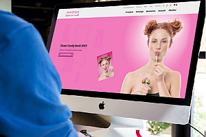 magna News Neue Homepage - Magna sweets: Neue Homepage