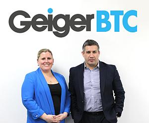 LauraBrannan and JasonDarbyshire - GeigerBTC: Neue Supplier Relationship Managerin